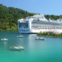 One of many Cruise Ships visiting Picton